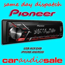 PIONEER MVH-S200DAB MECHLESS MP3 DAB IPHONE USB AUX CAR VAN TAXI CHEAP STEREO