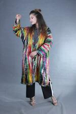 Hand Embroidery Silk Atlas National Uzbek Antique Robe Chapan Sale Was $210.00