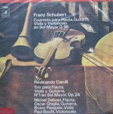 FRANZ SCHUBERT - CUARTETO PARA FLAUTA, GUITARRA, VIOLA Y VIOLONCELO -  LP