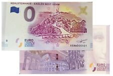 Kehlsteinhaus - Eagles Nest 1834M 2018-1 Null Euro Souvenirschein|€0 Euro Schein