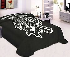 "Sons Of Anarchy  King size  Luxury Plush Mink Blanket 84""X94"""