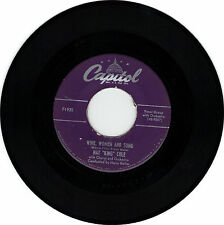 """NAT KING COLE Capitol Records """"Wine Women & Song/A Weaver of Dreams"""" 45 RPM VG+"""