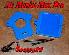 BLUE XL Mount Castle Mamba Max Pro ESC & 550 Large SCT Motors Slash 4wd 4x4