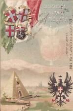 A6879) DIVISIONE MILITARE DI NOVARA, MANOVRE DI CAMPAGNA 1906, VALLE D'AOSTA. VG