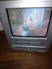 "ORION Portable TV/DVD Combo Model TVDVD092 9"" CRT Television Tested Works Great!"