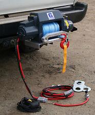 Goodwinch portable 9.5i winch Bak Rak kit. Landrover suzuki toyota