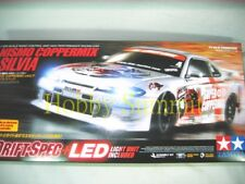Tamiya 1/10 RC 4WD Drift NISMO SILVIA  w/ LED Light System &  ESC  TT01D # 58386