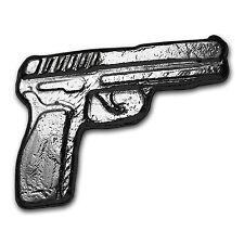 2 oz Silver Gun - Monarch Pistol - SKU #103124