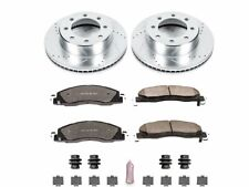 For 2009-2010 Dodge Ram 3500 Brake Pad and Rotor Kit Front Power Stop 17943WG