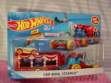 Hot Wheels Cirque Car-Nival Marmite à Vapeur Camion �œ� Bleu/Jaune/Rouge Pédale