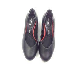 Rockport Total Motion Womens Pump Trutech Black Dress Shoes Low Heel Sz 6.5