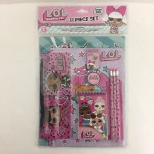 Licensed LOL Surprise! 11pc Stationery Set in bag