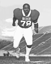 1984 Virginia Tech BRUCE SMITH Glossy 8x10 Photo Football Poster College Print