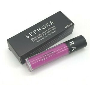 SEPHORA Luster Matte Long-Wear Lip Color Liquid Lipstick ORCHID Full Size BNIB