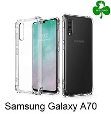 For Samsung Galaxy A70 Case Cover Crystal Clear Protective ShockProof Case