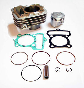 Tuning Zylinder Kolben Kit 80ccm Power Cylinder Piston Kit  Honda CB CY XL 50