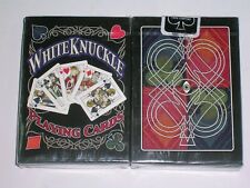 1 DECK White Knuckle V2 red PLAYING CARD-S10315605-A