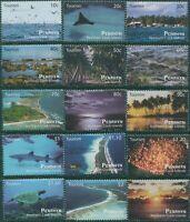 Cook Islands Penrhyn 2011 SG573-587 Tourism Island Views set MNH
