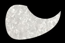 White Pearloid Pickguard for Acoustic Guitars