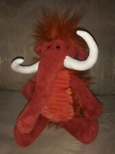 """Jellycat London Woolly Mammoth Plush 13"""" Tusks Brown Stuffed Animal Ages 1+..."""