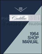 1964 Cadillac Shop Repair Manual 64 Deville Eldorado Fleetwood Sixty Two 68 75