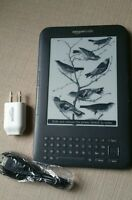 "Kindle Keyboard 3G, Free 3G + Wi-Fi, 6"" E Ink Display (3rd Gen)"