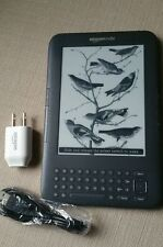 "Kindle Keyboard 3G, Free 3G + Wi-Fi, 6"" E Ink Display (3rd Gen)"