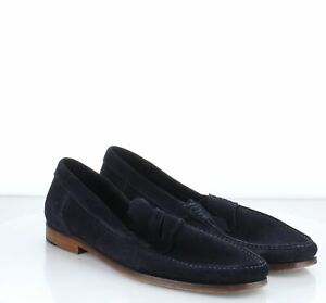 Z33 Men's SZ 9 To Boot New York Mitchum Suede Penny Loafer Drivers Navy
