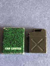 "Vintage pocket Cigarette Lighter, Circa 1960 "" Jerry Can "" In Original Box"