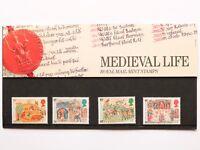 1986 Royal Mail Medieval Life Presentation Pack 172 SNo46995