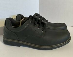 Earth Spirit Mens 7.5, 13 Powell Lace Up Shoes Cushioned Power Footbed Black NWT