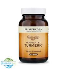 Organic Fermented Turmeric Dr Mercola 60 CAPSULES Ayuverdic, skin, detox