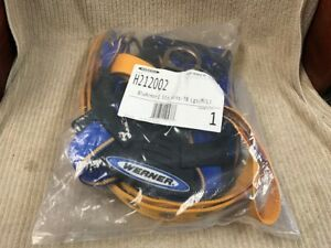 WERNER BLUE ARMOR 1000 STANDARD TONGUE BUCKLE HARNESS #H212002 (M/L) Ships Free!