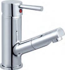 Design Wasserhahn Waschtisch Armatur herausziehbare brause Einhebelmischer Neu