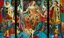 Wooden jigsaw Puzzles1000 pieces New RussianTriptych Contemporary gift