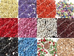 4mm MICRO BUTTONS MINI BUTTONS TINY DOLL CLOTHES BUTTONS SCRAPBOOKING CRAFT