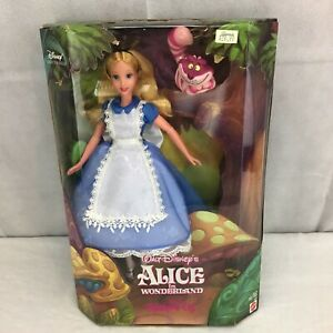 Disneys Alice In Wonderland and the Cheshire Cat Collectors Edition Mattel Doll