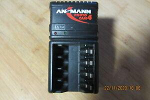 Ansmann - Ladegerät Mignon und Micro AA und AAA