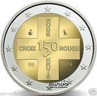 Pièce commémorative 2 euros BELGIQUE 2014 - 150 ans de la Croix Rouge - UNC