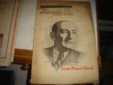 CINEMATOGRAFIA - NUMERO SPECIALE JOSEPH MICHAEL SCHENCK - OTTOBRE 1948 originale