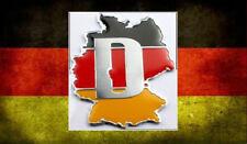 Germany Deutschland Car Badge Audi Mercedes Porsche VW Volkswagen Emblem BMW NEW