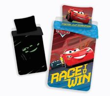 Disney Cars Glow in the Dark Duvet Cover Set 100% Cotton