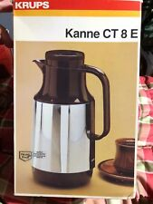 New VINTAGE KRUPS KANNE CT 8 E MADE IN GERMANY 27967