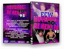 ECW Wrestling: November To Remember 1995 DVD-R Rey Mysterio WWE WWF WCW Psicosis