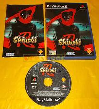 SHINOBI PS2 Versione Ufficiale Italiana 1ª Edizione ○○○○○ COMPLETO