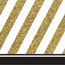 100 Oro Servilletas 33cm 3ply Servilletas De Navidad Boda Fiesta Catering