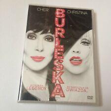 BURLESQUE - DVD - POLISH PRINT RELEASE - SEALED - AGUILERA CHER - MAMMA MIA 2