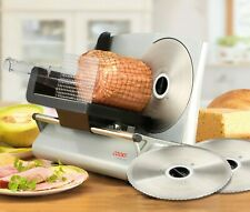 Cooks Professional G2868 150W Electric Food Slicer with 3 Blades