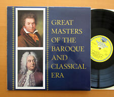 DG 104 475 Great Masters Of The Baroque And Classical Era TULIP Stereo EX/EX