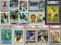 3-2-1 Baseball Mystery Explosion Pack 3 Rookie Year Cards 2 Inserts & 1 Slab 321